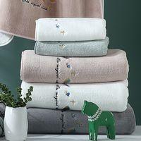 La serviette de velours corail ne sera pas non peluchée 80g Jacquard de luxe luxe design Soft Wash Bath Maison Absorbant Hommes et Femmes Widkfs Wholesale