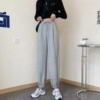 Women's Pants & Capris Autumn Sweatpants Women Baggy Wide Leg Sport Oversized Joggers Streetwear High Waisted Loose Hip Trousers