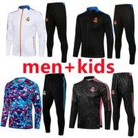 Männer + Kinder 2021 2022 Real Madrid Fussball Training Anzug Herren Trainingsanzug Chandal del 21 22 Benzema Alaba Gefahren Casemiro Modric Marcelo