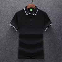2021 Summer Designers T shirt Europe Paris Polos Mens tshirts Letter pattern 100% Cotton Polo Casual t-shirt mans Tees size M-3XL