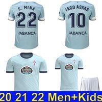 21 22 Celta de Vigo Futebol Jerseys Iago Aspas 2021 2022 Brais Mendez Camiseta de Futbol Nolito S.Mina Camisa de futebol Hugo Mallo Camisa