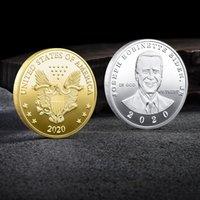 Joe Biden Präsident Souvenir Münze Amerika Wahlen Bidingen Gedenkmünzen Herausforderung Sammelbare Kunst Münzen Handwerk Geschenke DBC BH4679