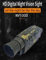 Hunting Cameras NV1000 5X Monocular Night Vision Camera 1080P HD Pography And Video IR Digital Binoculars