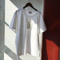 Herren und Womens Sommer Akne Baumwolle Rundhalsausschnitt Gestickte Kurzarm Mode Studios Lose Casual T-Shirt