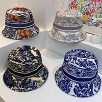 Ведро шляпу дизайнерские мужские шапки шапки женские бейсболка Cap повседневная чистая ватная буква мода песчаный пляж солнечные колпачки 7 цвет высокого качества