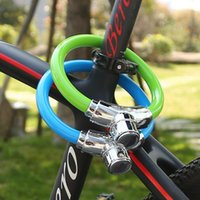 Bike Locks Bicycle Ring Lock Cycling Portable MTB Accessories Road Small Cable Security Equipment