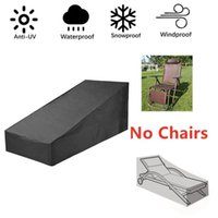 Outdoor Waterproof Patio Sunbed Lounger Furniture Dust Weather chair Cover Seat Sun deck Swing folding Protector cover D0F2
