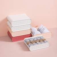 Storage Drawers Household Underwear Socks Compartment Box With Dust-proof Cover Bra Organizer Case Closet Tools For Scarfs And Stockings