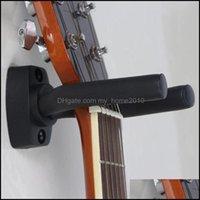 Holders Racks Storage Housekee Organization Home & Gardenguitar Hanger Hook Holder Wall Mount Stand Rack Bracket Display Guitar Bass Screws