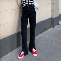 Women's Jeans Woman Pants Spring Loose Denim High Waist Straight Pantalones Vaqueros Mujer