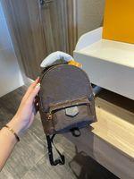 Paris Luxury Designer Женщина Высококачественная кожаный рюкзак Сумка на молнии почтовый мешок мини школьная сумка студент рюкзак
