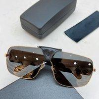 Marco de moda Gafas de sol Lujo Pequeñas gafas Hombres y mujeres Hermoso decorativo Adecuado para varias ocasiones Una variedad de accesorios son opcionales.