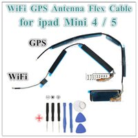 1 STÜCKE FÜR IPAD 6 AIR 2 MINI 4 5 WIFI GPS Funksignal Antennenanschluss Flex Kabel Ersatzteile