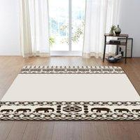 Carpets Cartoon Style For Living Room Home Big Area Rugs Bedroom Shelf Drum Floor Mat Carpet Kids Crawl Non-slip Rug