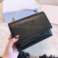 Wallet Handbag Shoulder Crossbody Bag Mini Envelope Purse Chain Tote Alligator Crocodile Messenger Clutch Backpack 2021 Women Luxury Designers Bags Lady Handbags