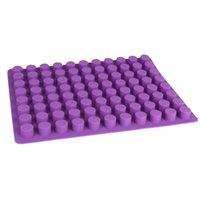 PR364 Silicone Ice Mold 88 Buracos DIY Criativo Pequena Forma Redonda Gelo Molde de Gelo Fruta Sorvete Bar Cozinha Acessórios 210225
