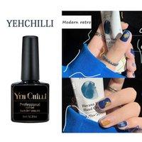 Nail Gel Polish Glitter Primer Glue Matte Manicure Potherapy Modern Retro Semi Permanent Uv Varnish Hybrid Art Color