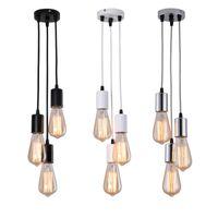E27 Plafonniers suspendus modernes Spider Nordic lampe lustres Suspension Pendentif Cuisine Chambre à coucher Salle à manger Restaurant Lumières