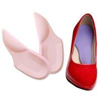 Gel 3/4 Arch Support Pad para tacones altos Pies planos Orthotics Plantillas ortopédicas Corrector para zapatos Mujer Pies Cuidado