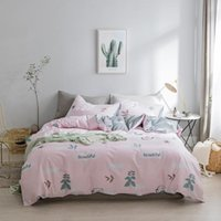 Bedding Sets 2021 Cotton Queen King Size Set Soft Bedclothes Luxury Duvet Quilt Cover Bed Linen Sheet 4 3Pieces