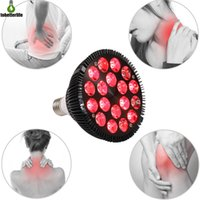 54 Вт Светодиодная терапия Свет 18 из 660 нм 850 нм Красная терапия лампы лампочковой лампы.