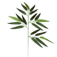 محاكاة الخيزران ورقة المشهد ل حديقة شجرة الديكور الاصطناعي الخيزران فرع ديكور المنزل تصميم