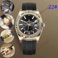 Relojes de hombre de calidad 24 Ajustable Mecánico automático de 42 mm de negocios de acero inoxidable de acero inoxidable 2813 Movimiento Relojes impermeables luminosos