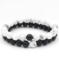 Charm Bracelets Accessories Women Men Beads Friend Bracelet Charms Femme Male Hand Chain Friendship For Couples Braclet