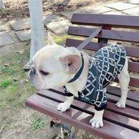 نمط هندسي سترة سستة معطف الكلب الملابس الشارع معاطف سوداء ل جرو شخصية القطن جاكيتات كلب صغير طويل الشعر