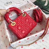 Bayanlar Çanta Yüksek Kaliteli Tasarımcı Diana Çanta High-end Marka Lüks Tek Omuzlu Çanta Çapraz Çapraz Çantalar