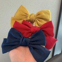Nette Bughaarclips für Kinder Massivfarbe Hairbows Hairclips Baby Mädchen Schmetterling Haarnadel Kleinkind Barrettes Kinder Zubehör