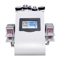 Cavitación de liposucción ultrasónica de nuevo modelo de alta calidad Cavitación de liposucción ultrasónica de 8 almohadillas Vacuum láser RF Cuidado de la piel Salón Spa Spa Máquina de adelgazamiento 110V 220V