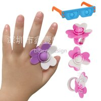 Ring Sunglasses Fidget Toys Its simple dimple Push Bubble Kawaii Girl Decoration Funny Toy For Children birthday gifts EE
