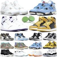 Nike air jordan 11 homens mulheres tênis de basquete 11 Concord 45 Platinum Tint Cap e vestido UNC Gym vermelho gama azul Mens Trainer Sport Sneaker