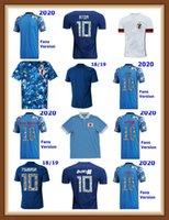 FANS Jogador Versão 20 21 22 22 Japão Jerseys 2021 2022 Tsubasa Atom Número dos desenhos animados Fontes 100th Aniversário Casa Camisas Futebol Top Tailândia Uniforme de Qualidade da Tailândia