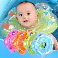 Natação bebê inflável acessórios pescoço anel de pescoço Tubo infantil flutuador infantil para banhos de água flamingo