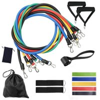 Resistance Bands Fitness Equipment Accessories Set 11-17pcs Kit Exercise Elastics For Training Workout Home Band Bodybuilding