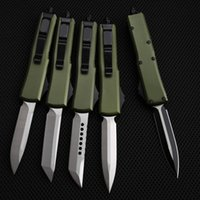 automatic KNIFE CNC T60161 handle D2 steel blade hight quality UTX70 UTX85 BM3300 A07 UT121 a12 Camping tactical pocket folding Quick opening cutting tool