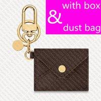 M69003 الحقيبة حقيبة سحر مفتاح حامل مصمم إمرأة عملة محفظة مصغرة محفظة باس غطاء حالة حلقة أجزاء المفاتيح pochette dragonne