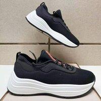 الفاخرة مصمم الرجال أحذية toblach تقنية متماسكة أحذية رياضية منصة المدرب الجوارب الأحذية المطاط شبكة النسيج تنفس عداء حذاء مع مربع no295