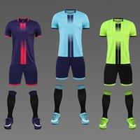 Luxury Leisure Sports Club Soccer Uniform Mens Suit Adult and Children Student Jersey Printed Uniform