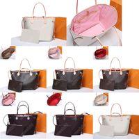 7Color 2pcs definir qualidade superior mulheres de couro genuíno bolsa de bolsa senhoras senhora saco de embreagem bolsa de lona velho flor bolsa de ombro saco de saco