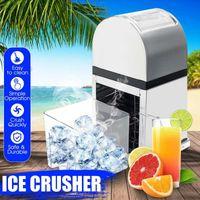 Blender protables acier inoxydable glace concasseur SHAVERS HOPPER Manual Smoothie Cône Smoothie Maker Block Breaker Machine