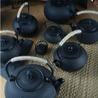 Cast Iron Tea Pot Stainless steel filter Cast Iron Teapot for Boiling Water Oolong Tea Home Induction Cooker Tea Kettle