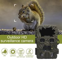 Hunting Cameras H8201 Off-road Camera Dual Lens 4K 20MP 170 Degree Wide Angle Night Vision Waterproof Wildlife
