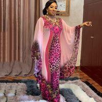 Africaine Femme 2020 Африканский принт Дасики Одежда плюс Размер Женское платье Batwing Рукав Анкара Платья Девочка Платье Вечеринки