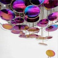 Europäische Kunstinstallation Pendelleuchten, Verkaufsabteilung, Kronleuchter, Showroom Fenster, Hotellobby, benutzerdefinierte technische Beleuchtungskombination Modellierung