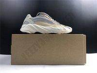 2021 700 V2 Крем Kanye Западные Обувь Кроссовки Kanyewest 700V2 Спортивные Мужчины Белые Желтые Шприцы Обус Человек Легкие Тренеры GY7924