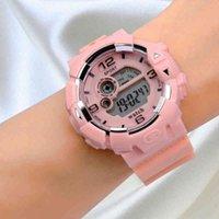 Designer Luxury marca relógios íons mulheres esporte es impermeável homens na moda senhoras top digital rosa de ouro amante o relógio de quartzo ao ar livre