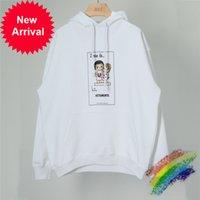 Übergroße Geschwätze Liebe ist US Hoodie Männer Frauen 1: 1 Top-Version Heavy Stoff Pullover VTM Sweatshirts